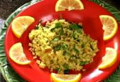 Orange Pilaf